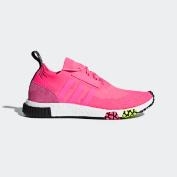 Adidas Nmd Racer Primeknit Solar Pink